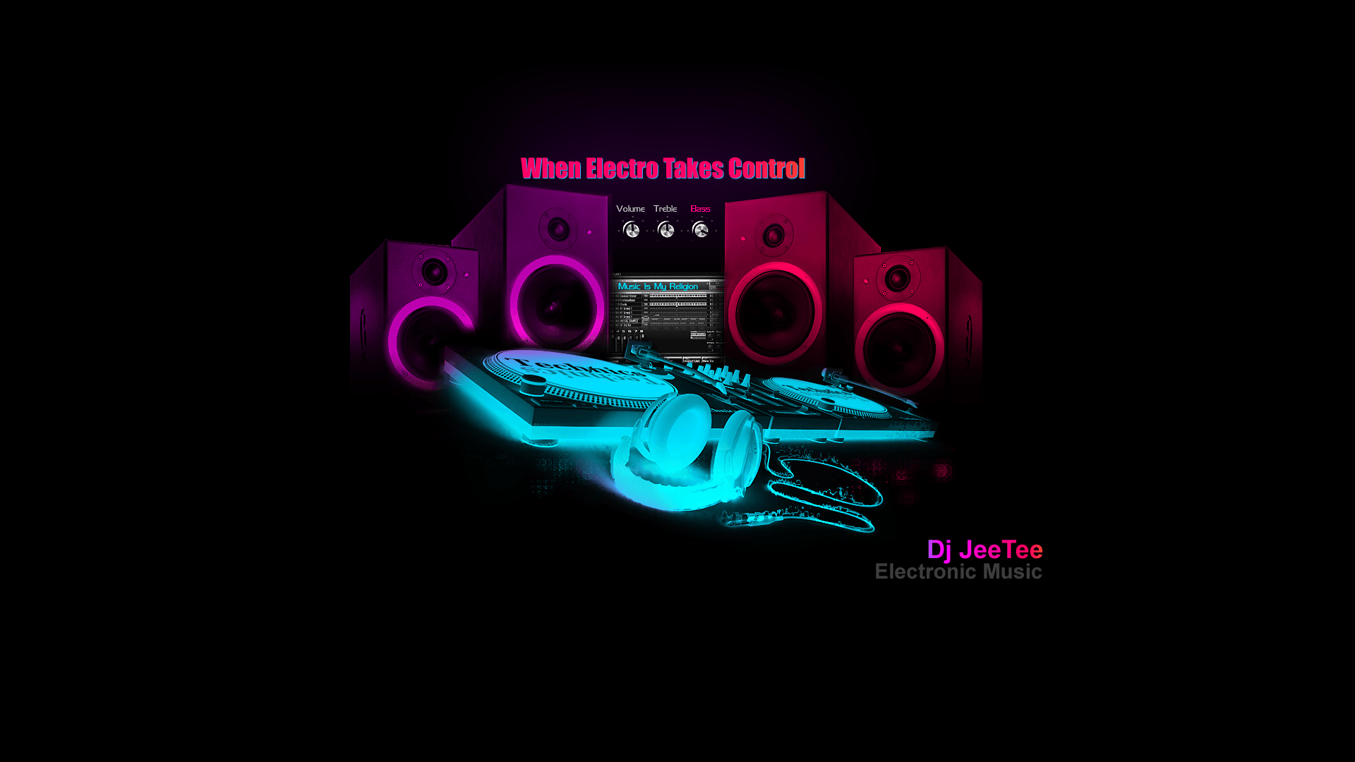 House Music Dj Wallpapers Wallpaper Cave