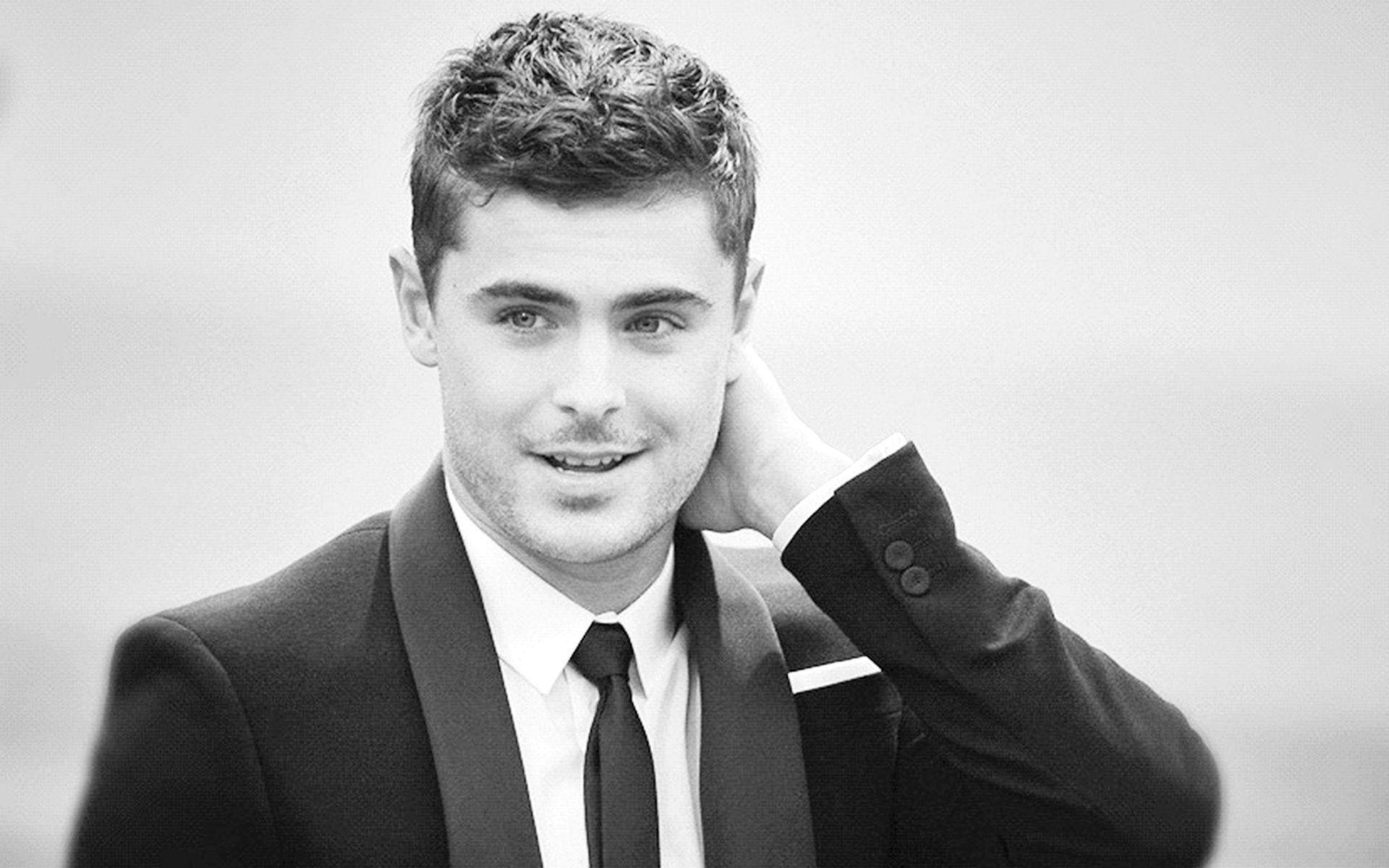 Zac efron wallpaper black white free download hd wallpapers and