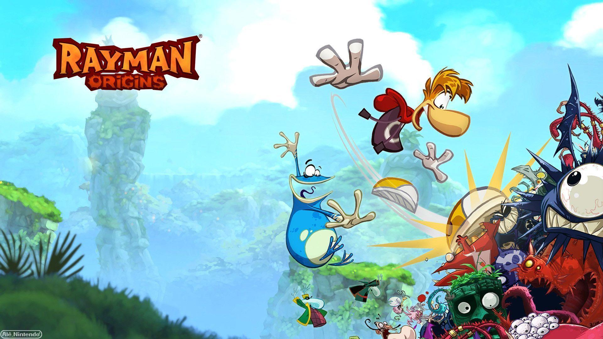 Pix For > Rayman Wallpapers
