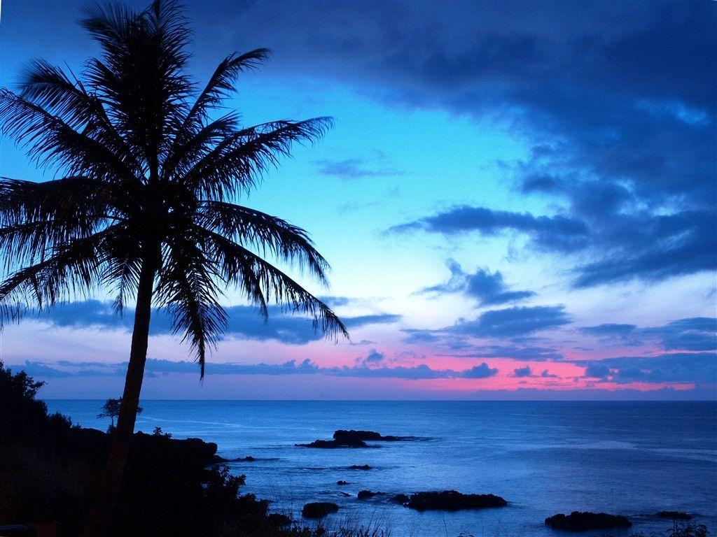 Tropical Sunset Backgrounds 10744 Hd Wallpapers in Beach n ...
