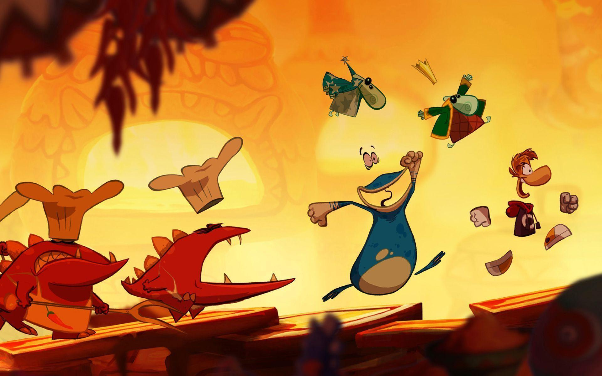 Rayman Origins HD Wallpapers