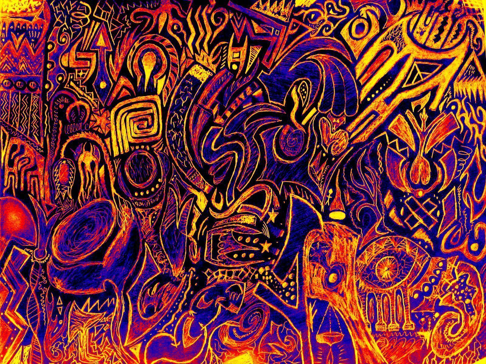 Psychedelic Art Wallpaper Images & Pictures - Becuo