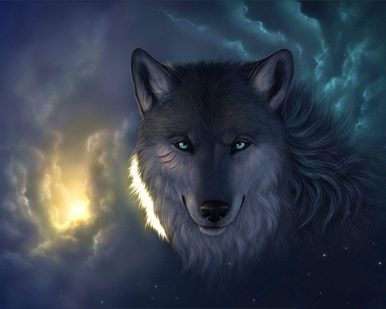 Images For Anime Wolf Wallpaper Widescreen