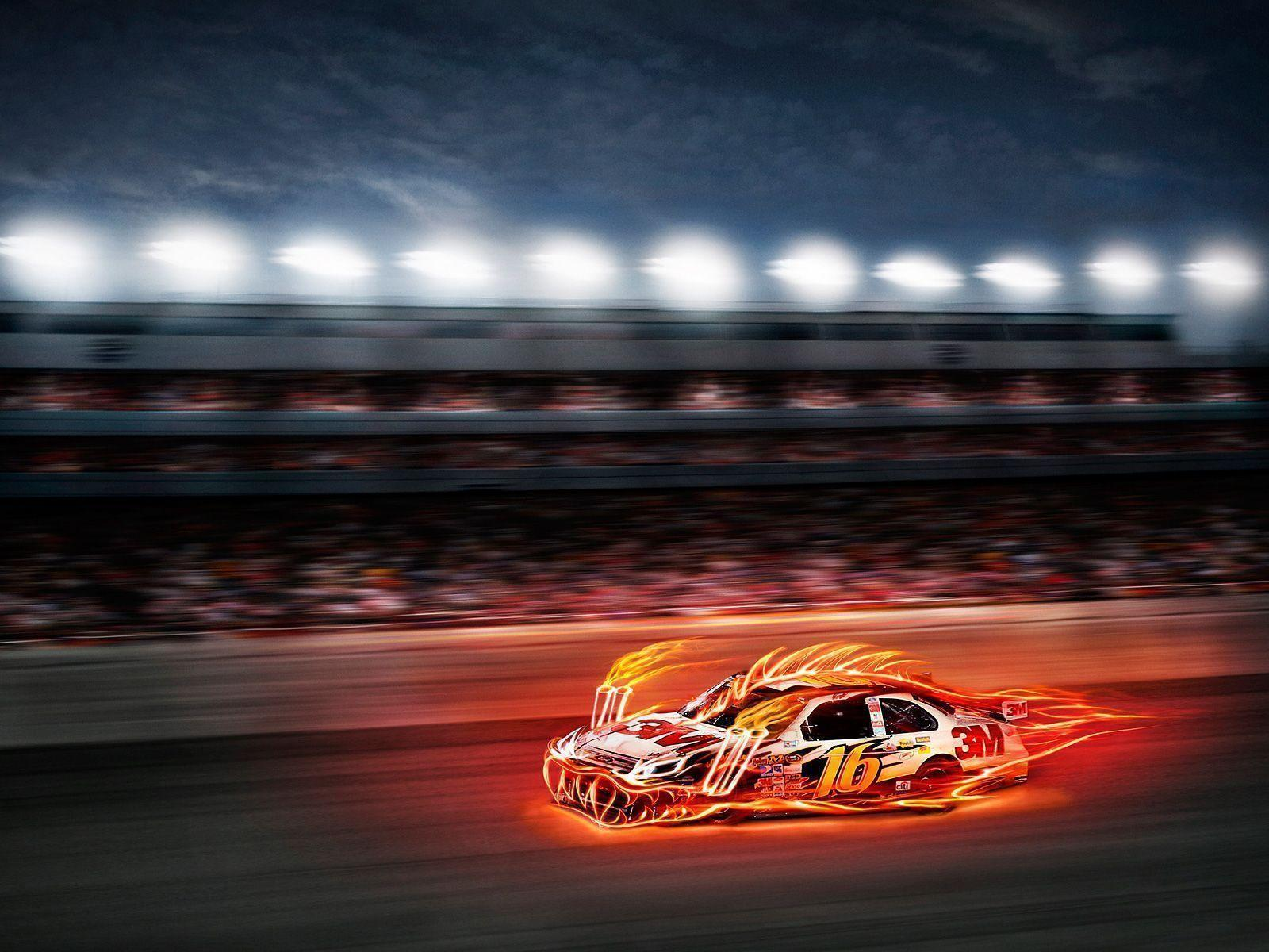 50 Nascar Hd Wallpapers On Wallpapersafari: Nascar Wallpapers