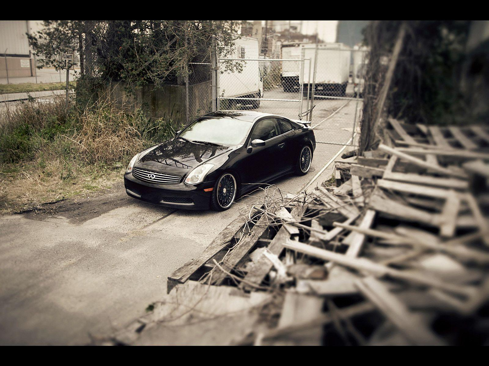 Infiniti G35 Sport Coupe - Photography by Webb Bland Palett ...