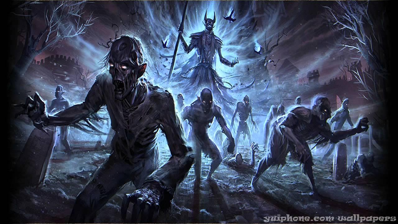 Fantasy Art Necromancers Wallpapers Hd Desktop And