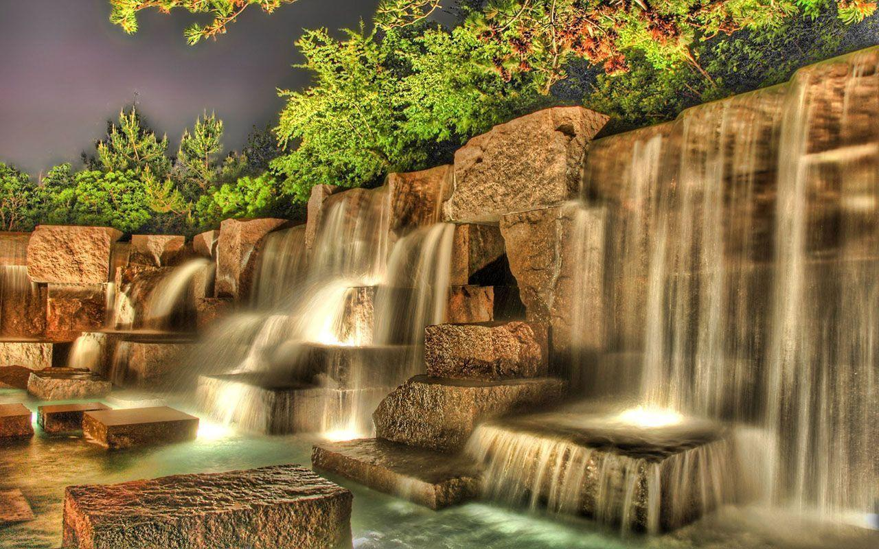 Waterfall Wallpapers 1280x800