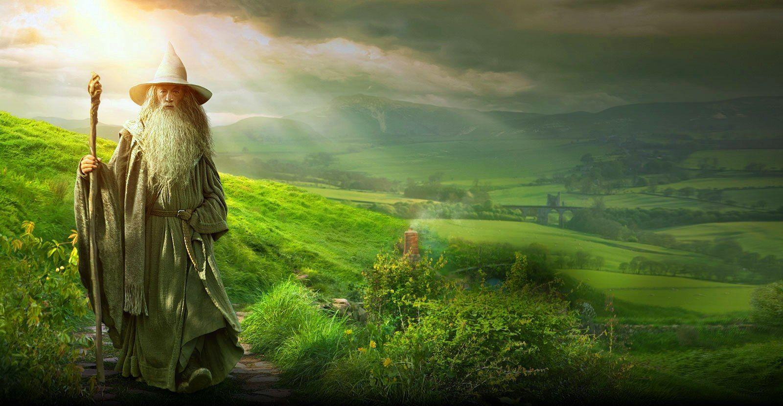 The hobbit wallpaper - Wallpaper hobbit 2 - Hobbit landscape ...