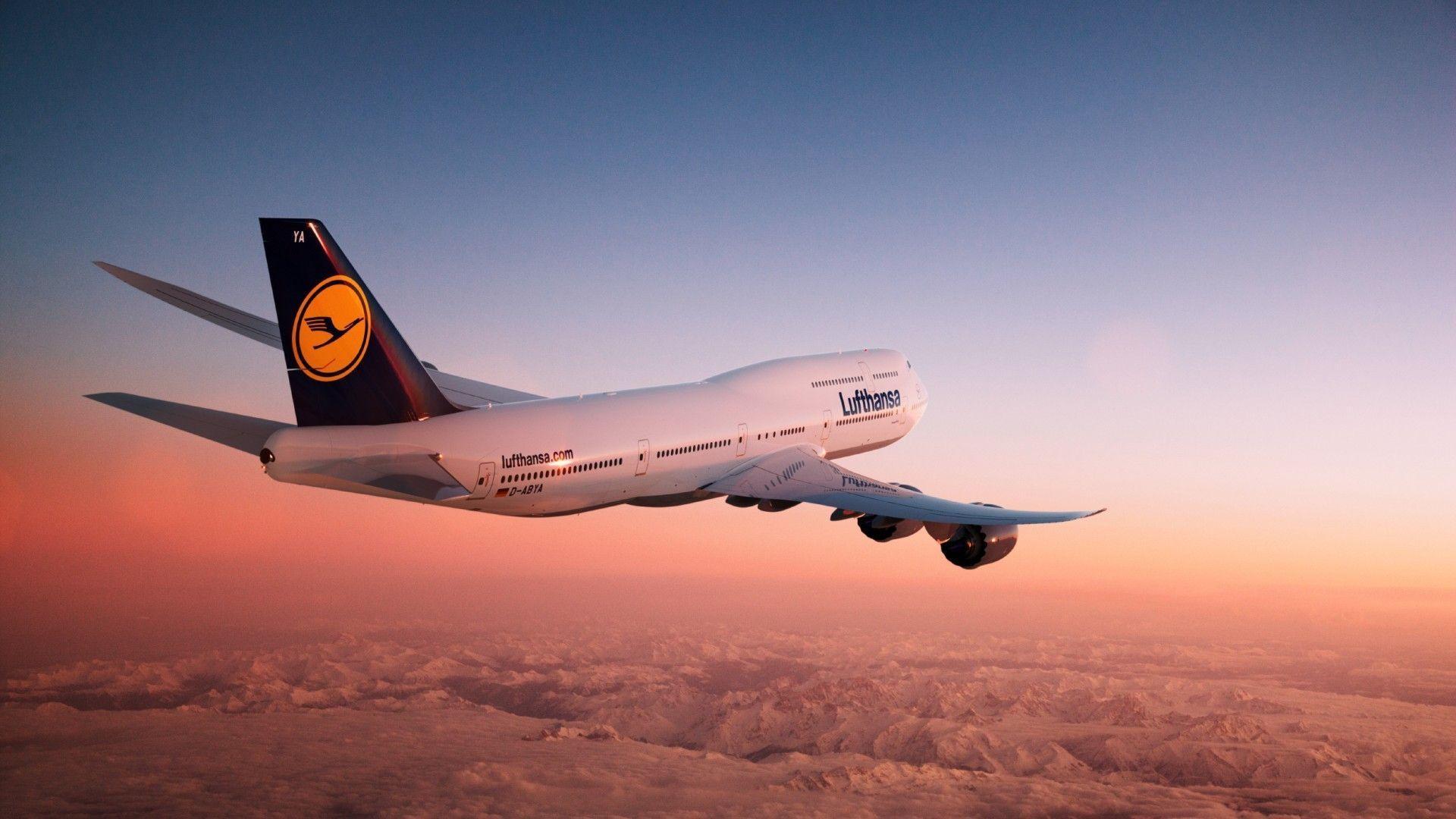 Обои с боингом 747