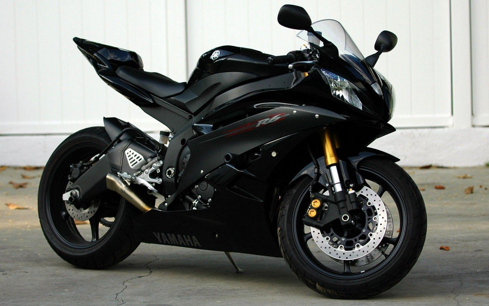 Sport Bike Black Wallpaper: Yamaha R6 Wallpapers
