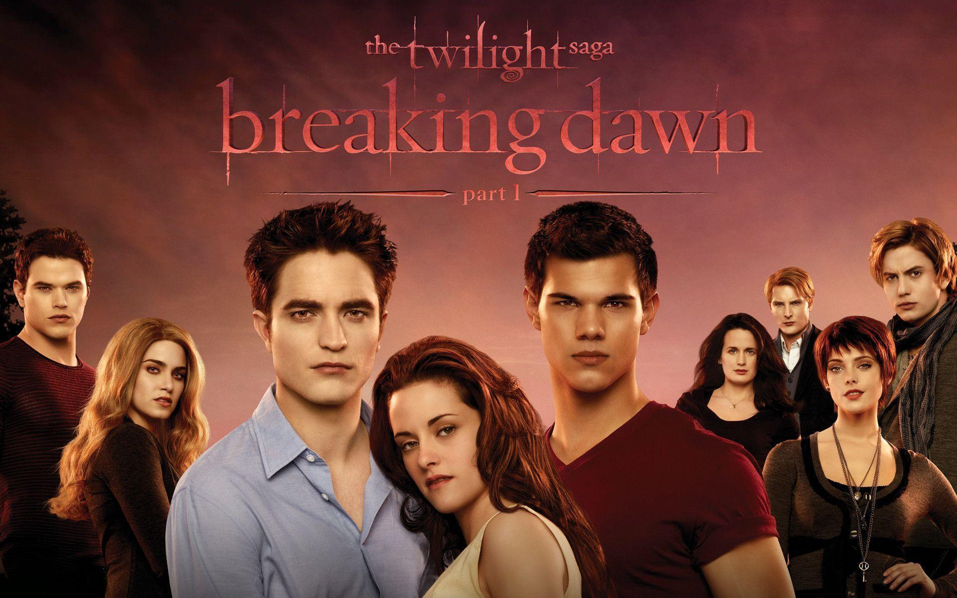 The Twilight Saga Breaking Dawn Wallpapers