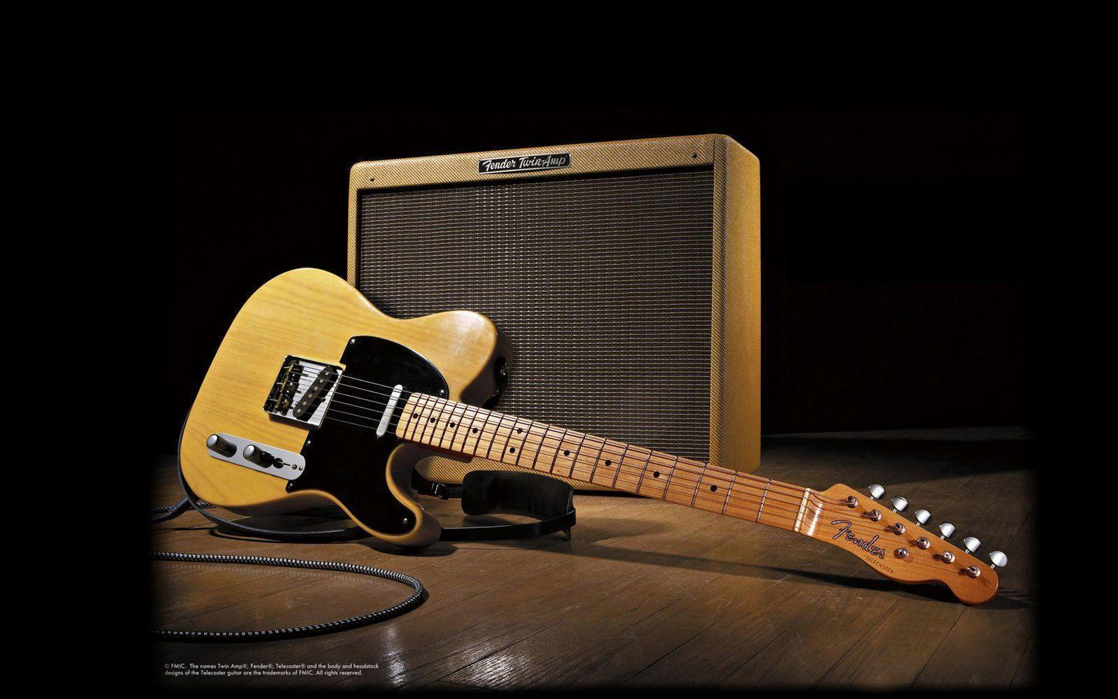 Fender Electric Guitar Wallpaper