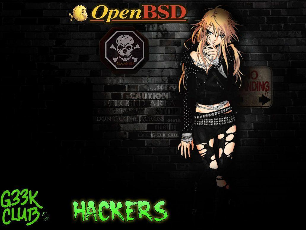 G33K Club H4Ck3R OpenBSD wallpapers by ipodpunker