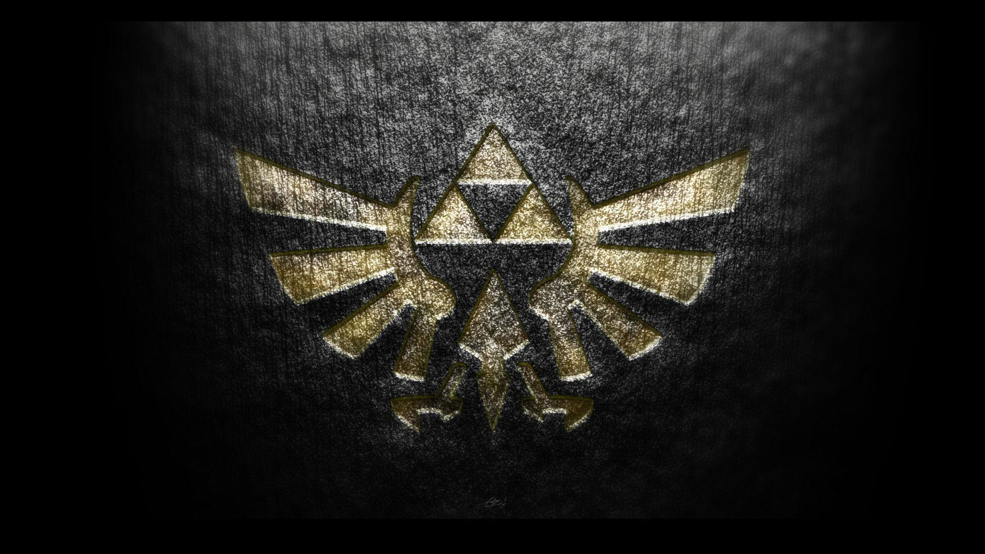Zelda Wallpaper 1920x1080 Triforce Triforce Backgrounds -...