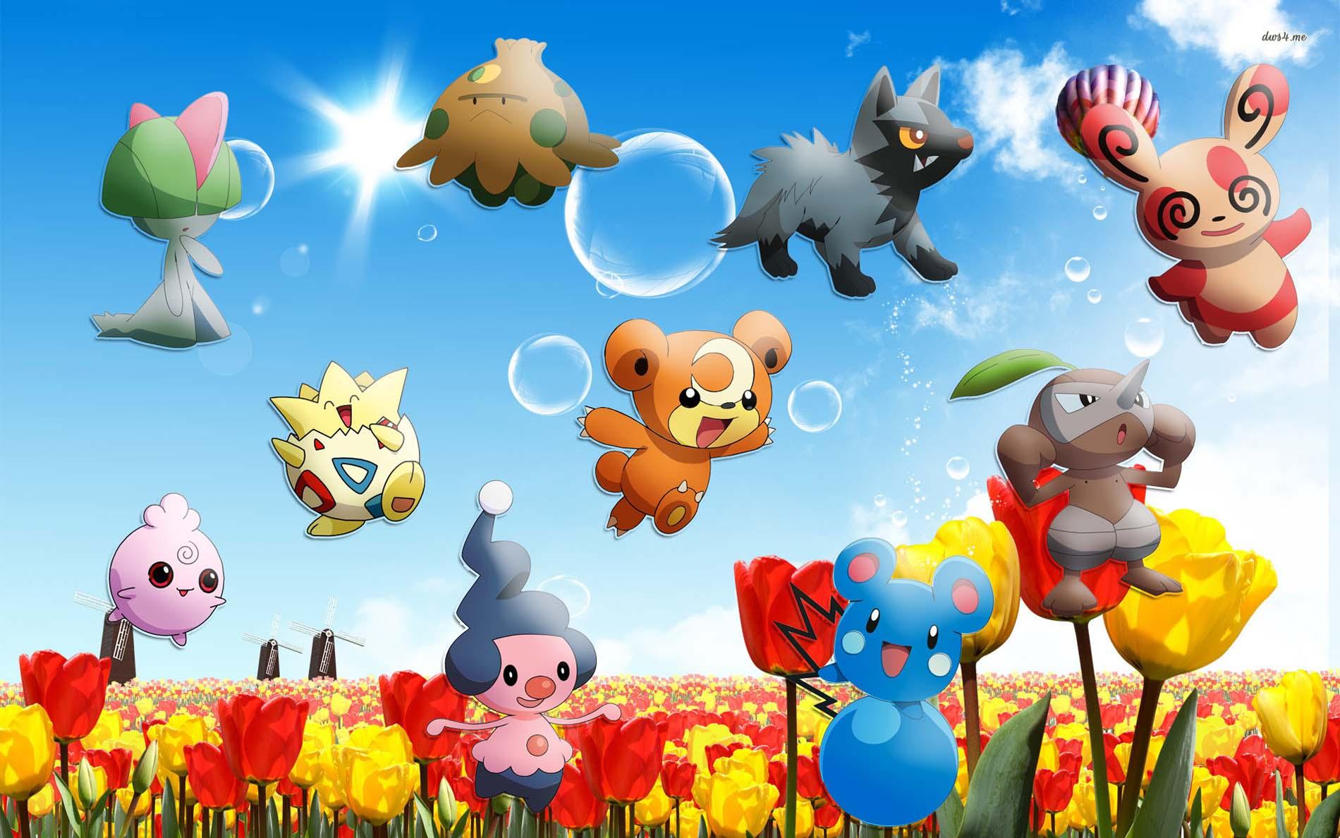 Cute Pokemon Wallpaper Res 1900x1188PX Cutest