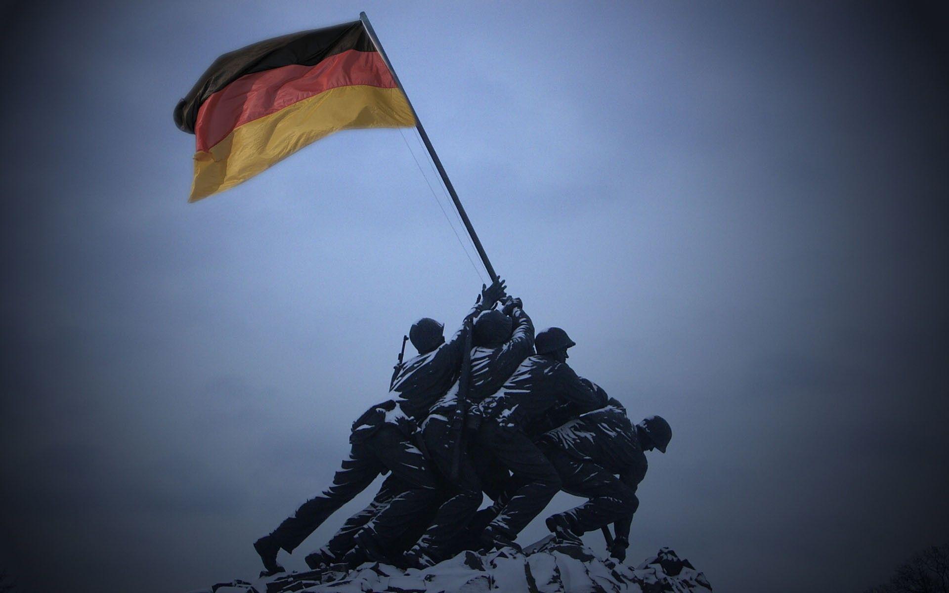 Germany flags World War II Iwo Jima Flag Raising wallpaper ...