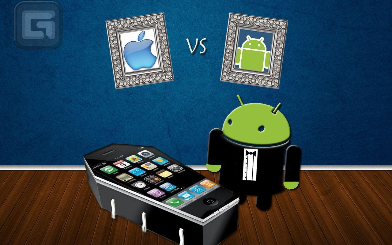 Wallpapers Apple Android Vs Best Tech Site On The Web 1280 800
