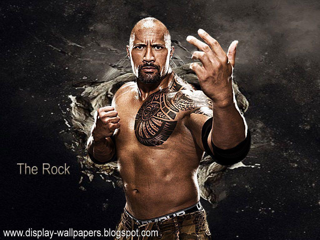 Images Of The Rock Wwe: Free WWE Wallpapers For Desktop