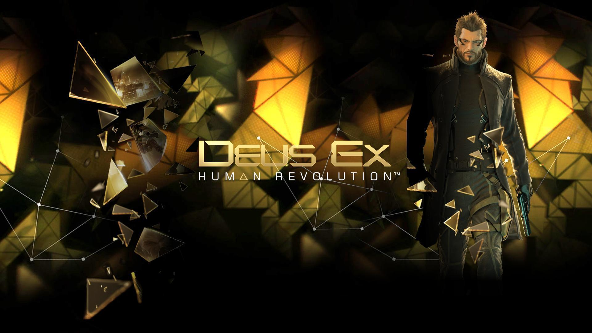 Deus Ex Human Revolution Iphone Wallpapers