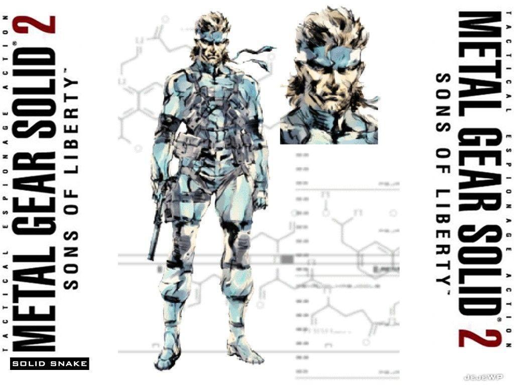 Metal Gear Solid 2 Wallpaper