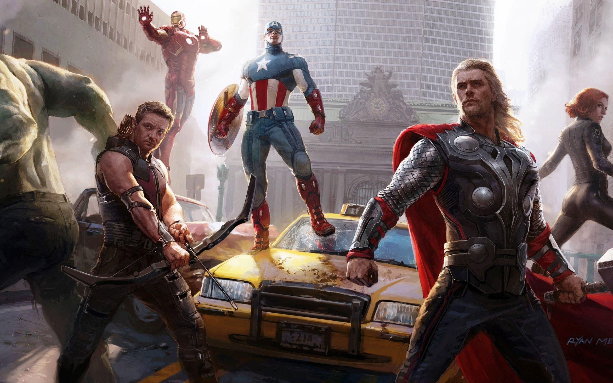 The Avengers Wallpapers - Page 1 - HD Wallpapers