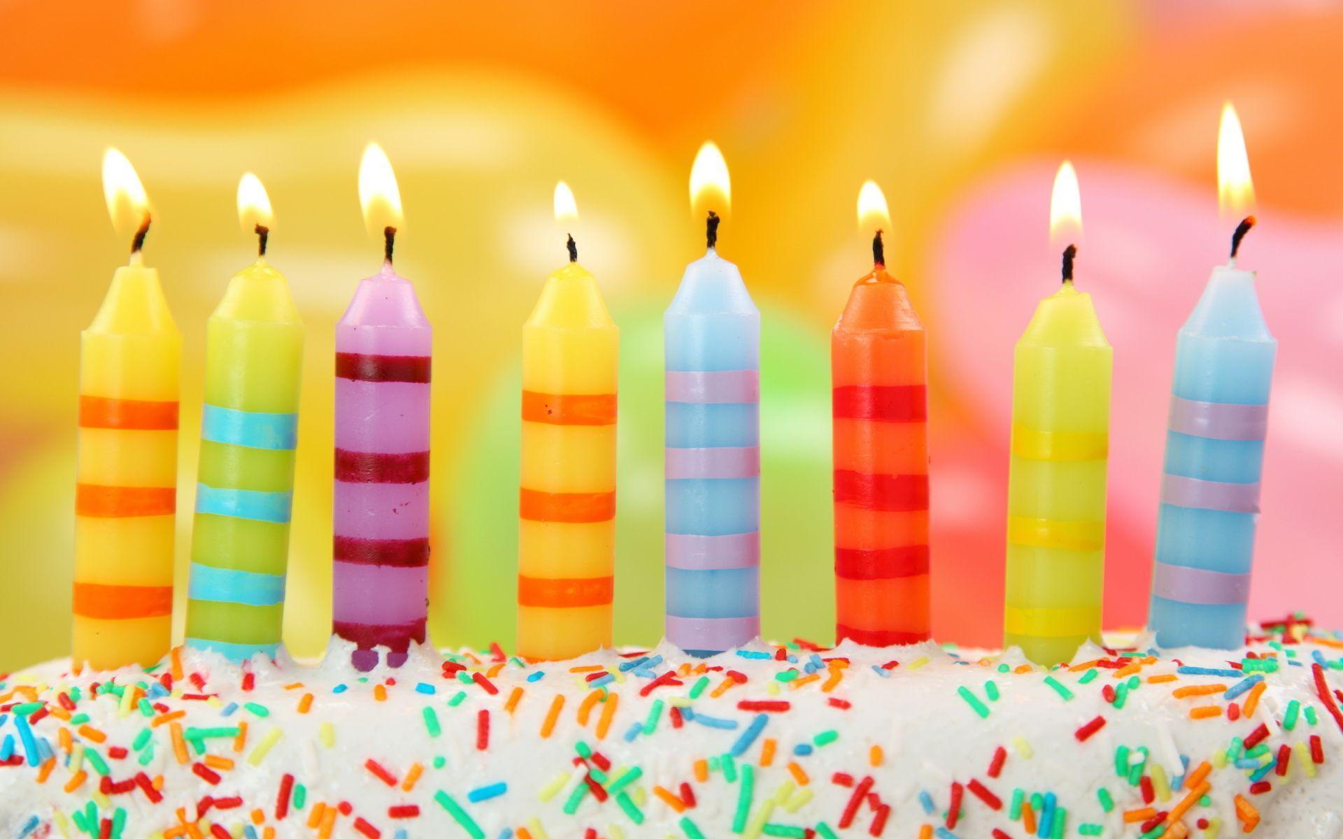 Candle Happy Birthday Wallpaper Desktop #5786 Wallpaper | High ...