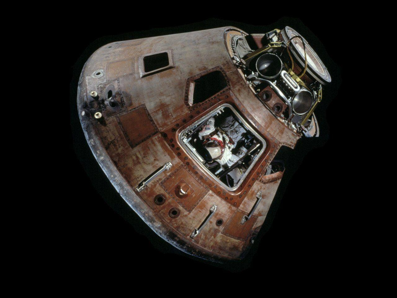 Apollo 11 Command Module Desktop Wallpapers