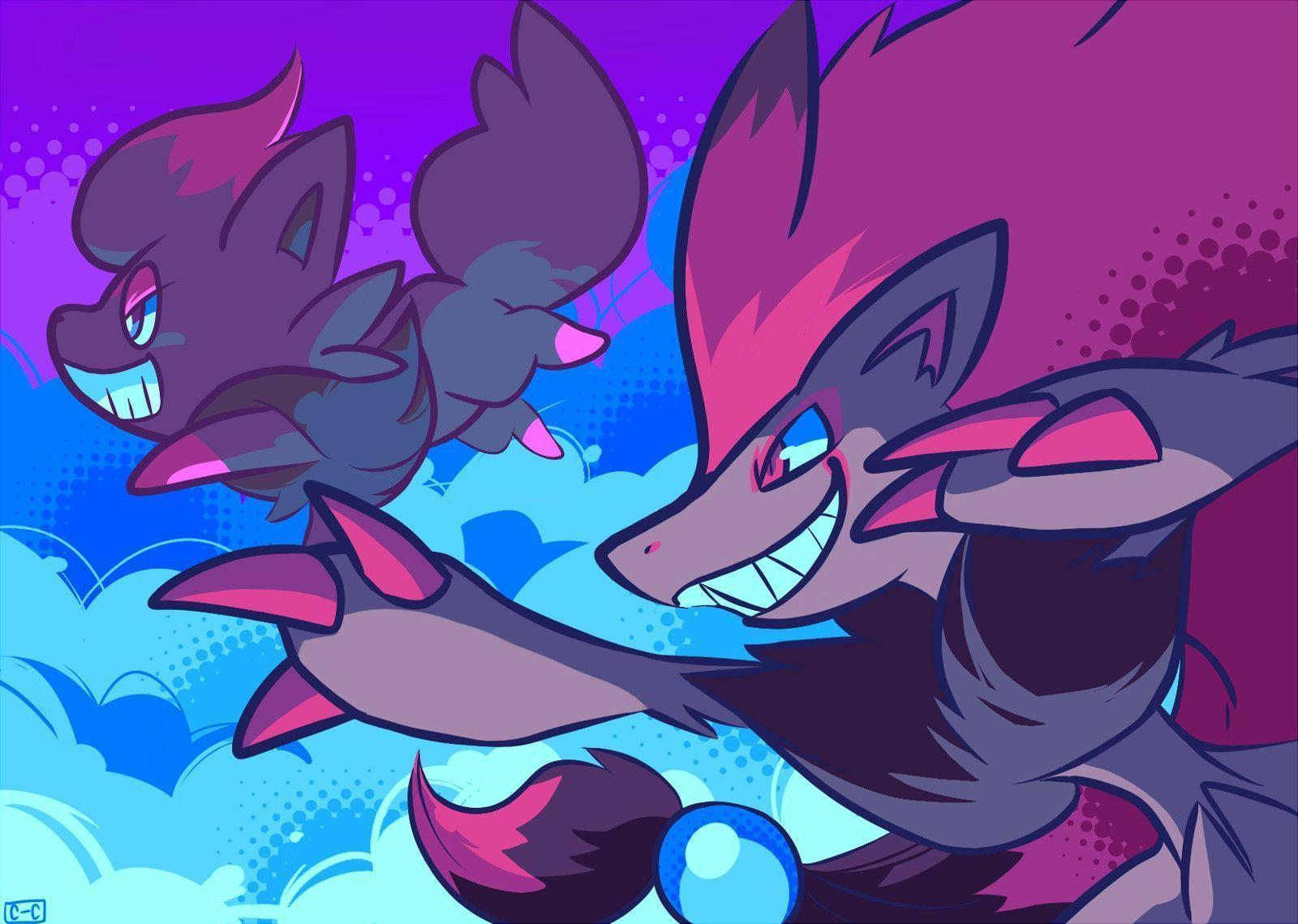Wallpapers For > Zorua Wallpapers