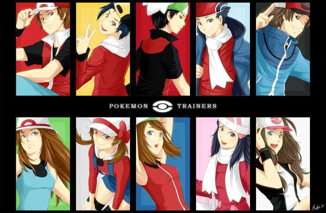 X And Y Anime Characters : Pokémon trainer wallpapers wallpaper cave
