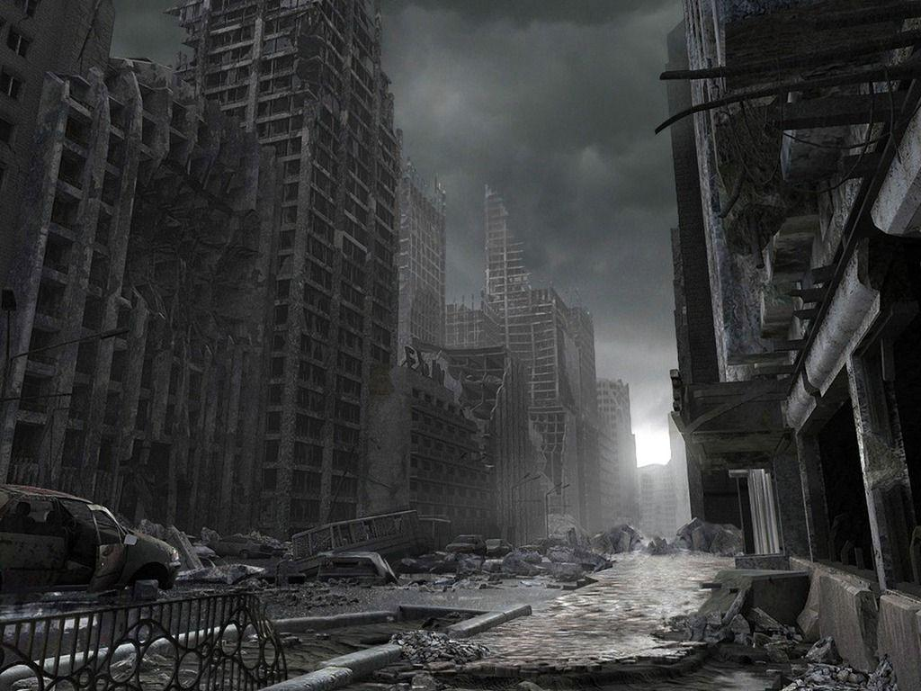 Destroyed The City Kjhr Wallpapers 1024x768 px Free Download