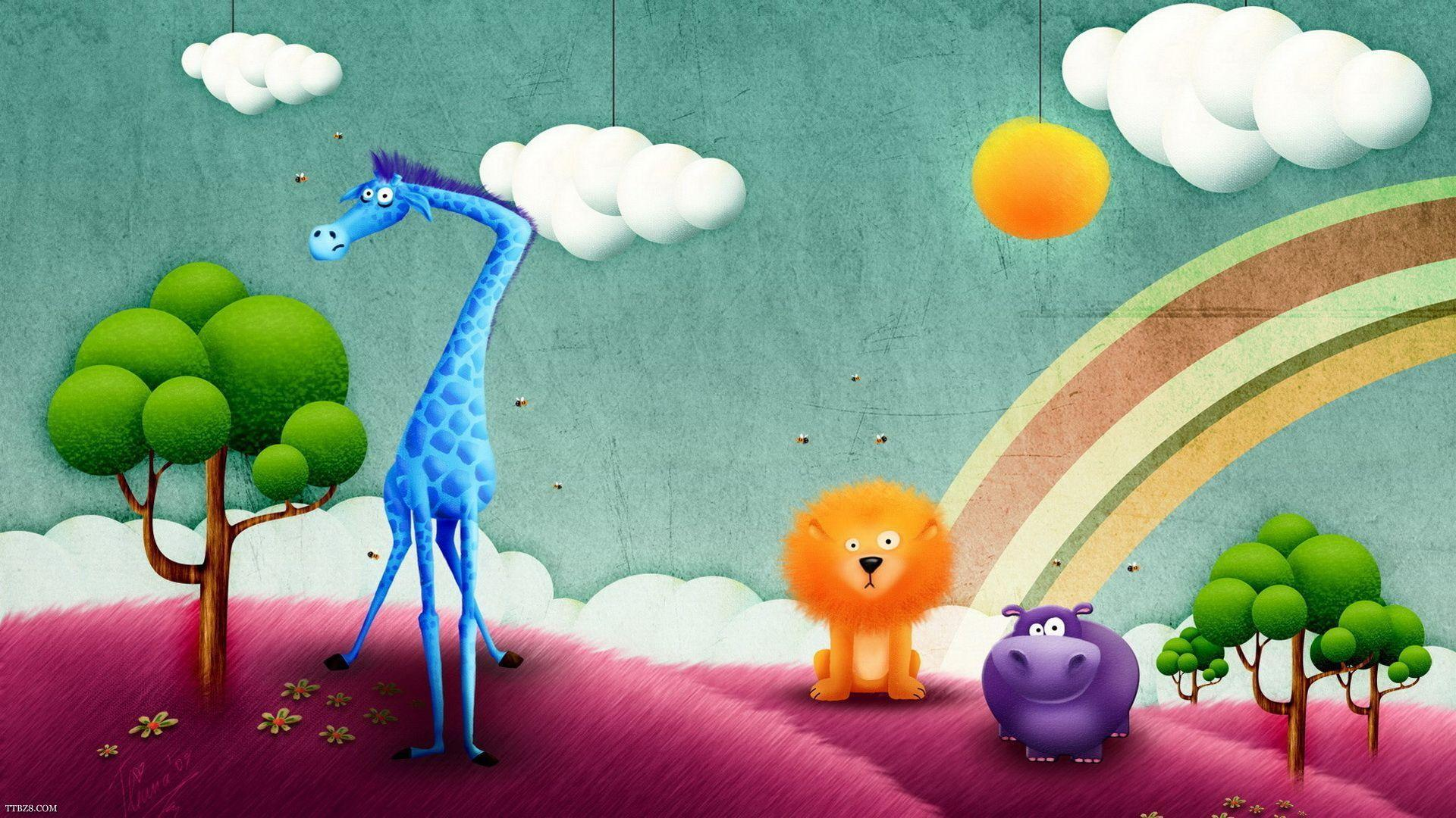 Wallpaper Desktop Love cartoon : cute cartoon Wallpapers - Wallpaper cave