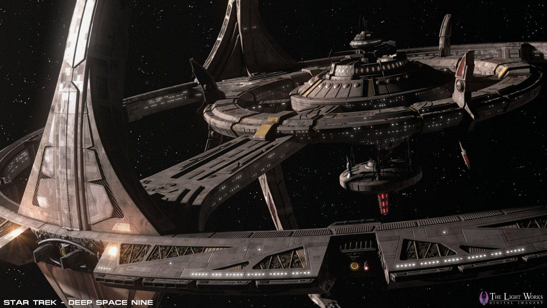 Image For > Deep Space Nine Station Wallpapers
