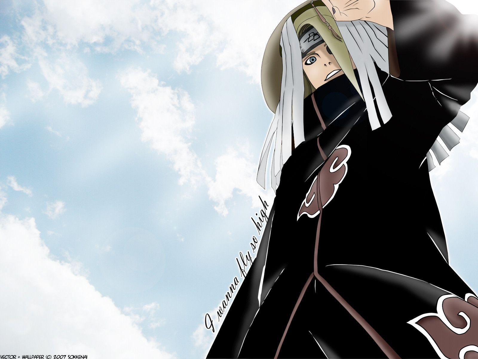 deidara wallpaper by ilacirjr - photo #15