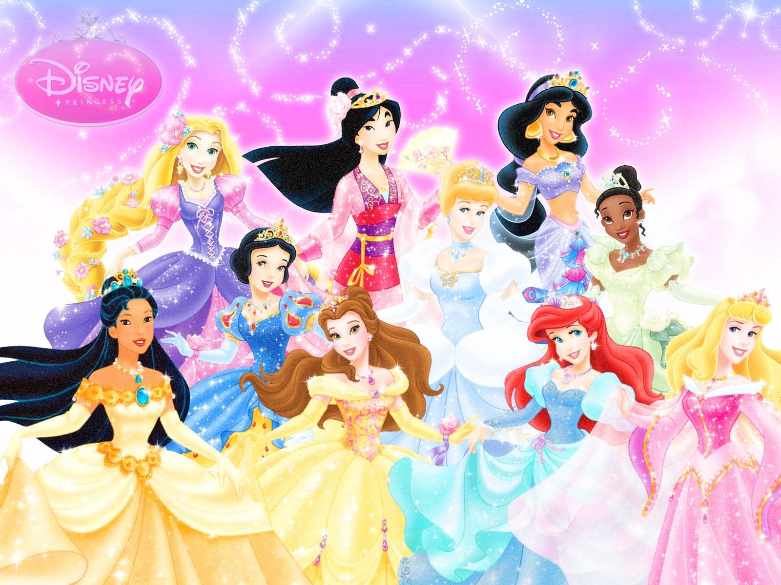 Disney princesses wallpapers wallpaper cave - Image de princesse disney ...