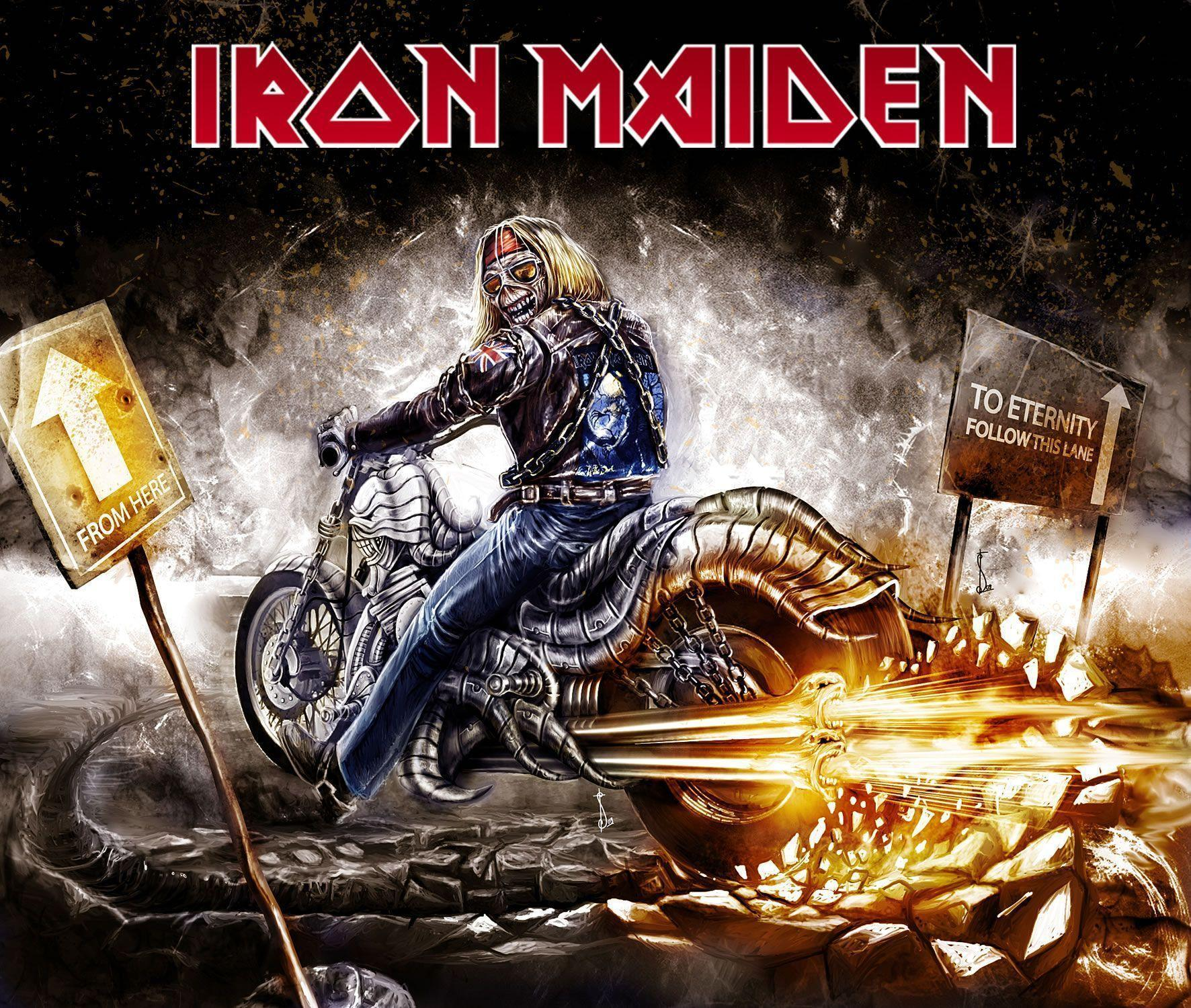 iron maiden wallpapers wallpaper cave. Black Bedroom Furniture Sets. Home Design Ideas