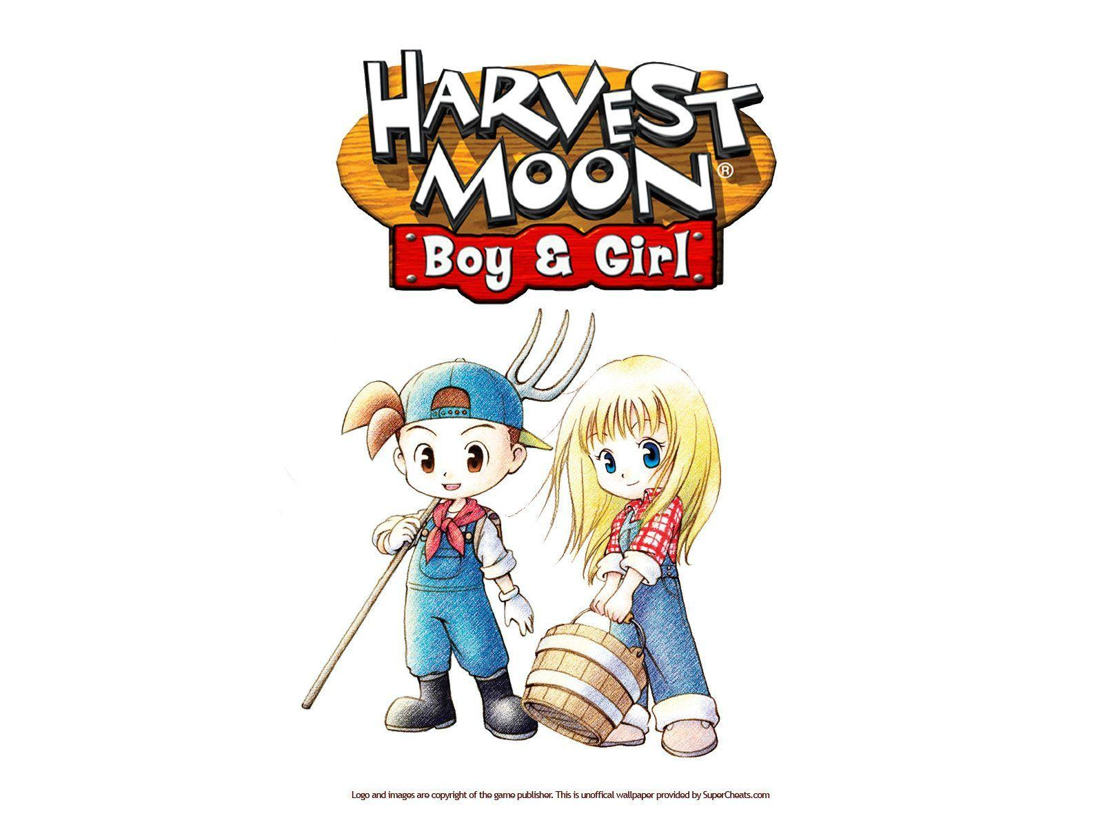 harvest moon boy and girl free download for pc