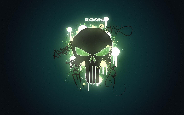 Download Graffiti <b>Punisher Skull</b> Wallpaper Full <b>HD</b> 1920?1080 <b>Skull</b> ...