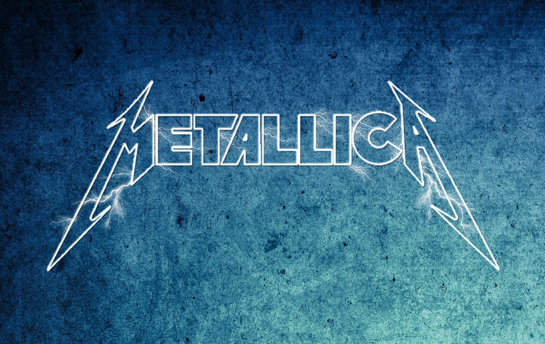 metallica lighting logo wallpaper - photo #40