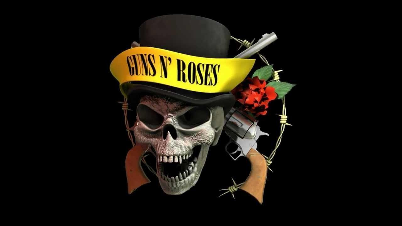 Guns N Roses Logo Wallpapers Wallpaper Cave