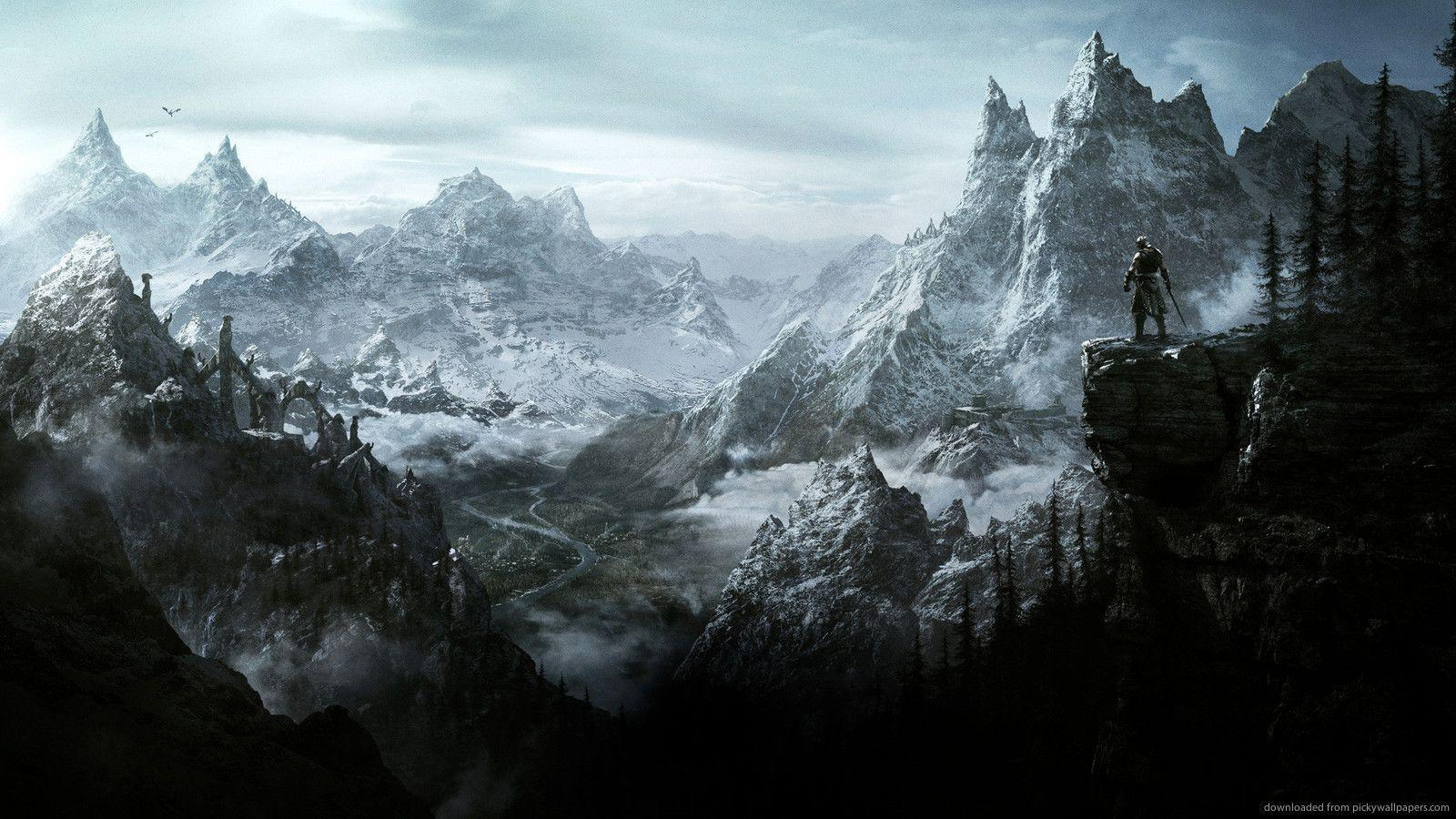 Download 1600x900 Skyrim Wallpapers