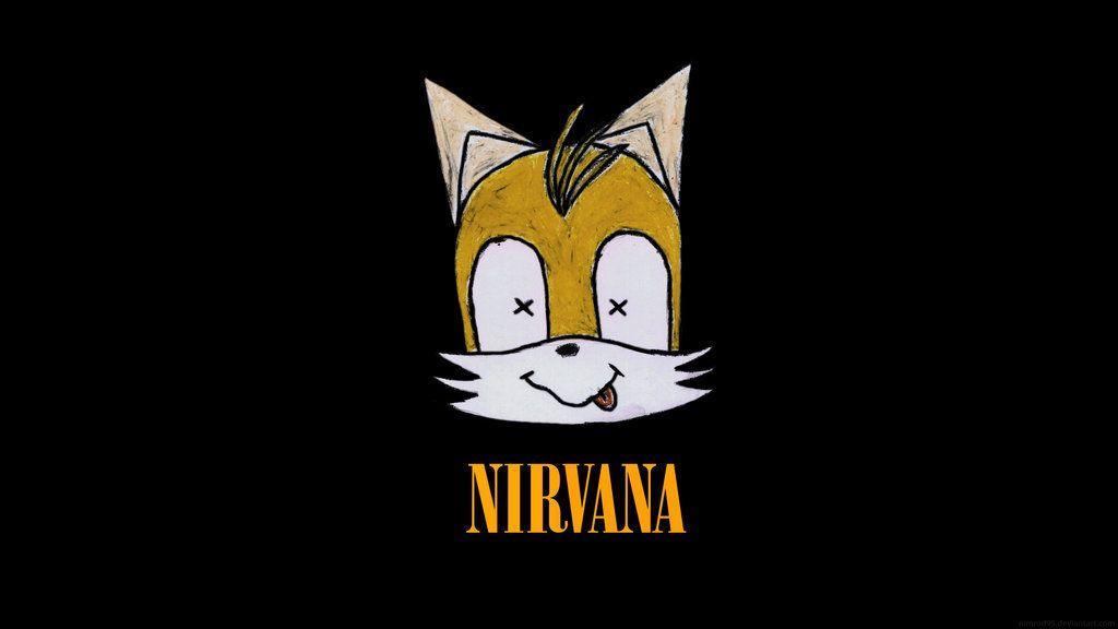 DeviantArt: More Like Tails as Nirvana Logo by Nimrod95