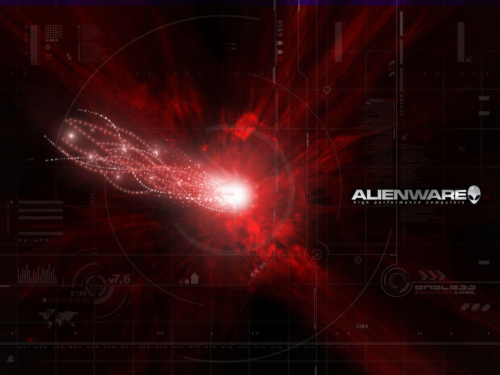 alienware wallpapers red - photo #9
