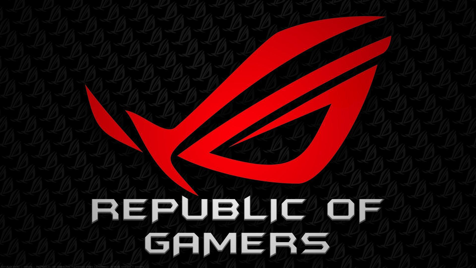 Republic Of Gamers Wallpapers Wallpaper Cave