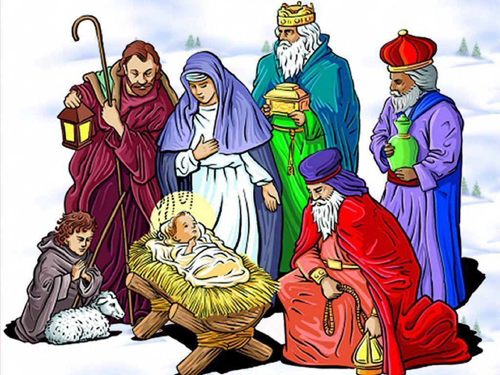 christmas nativity wallpapers wallpaper cave