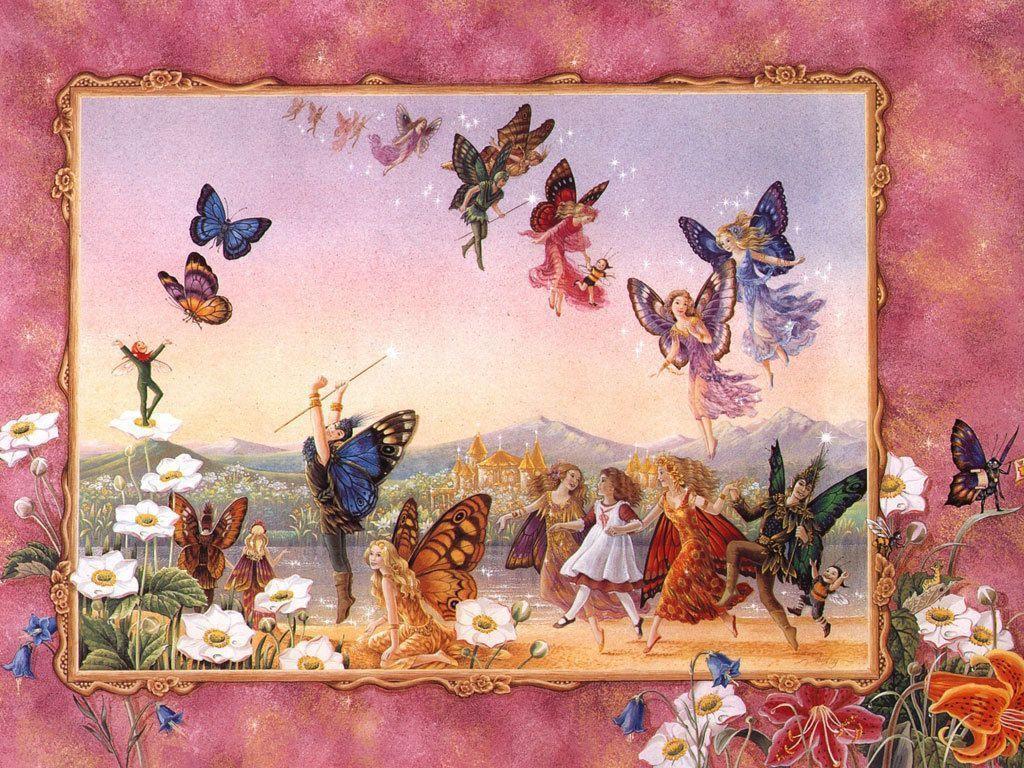 Fairy Butterflies,Wallpaper - Butterflies Wallpaper (7974931) - Fanpop