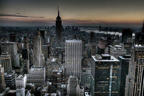 Gotham City Background New York City Skyline Wallpaper (HDR ...