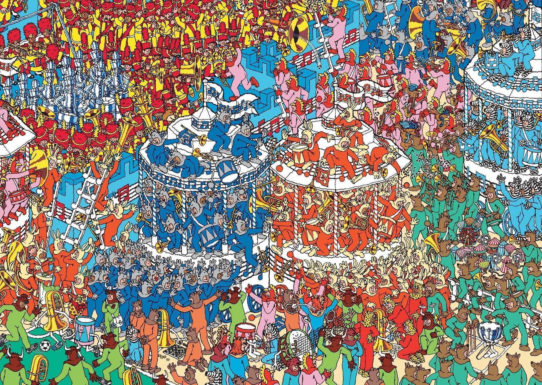 This is a photo of Breathtaking Where's Waldo Pictures Printable