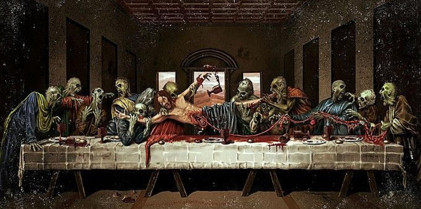 The last supper wallpapers wallpaper cave - Last supper 4k ...