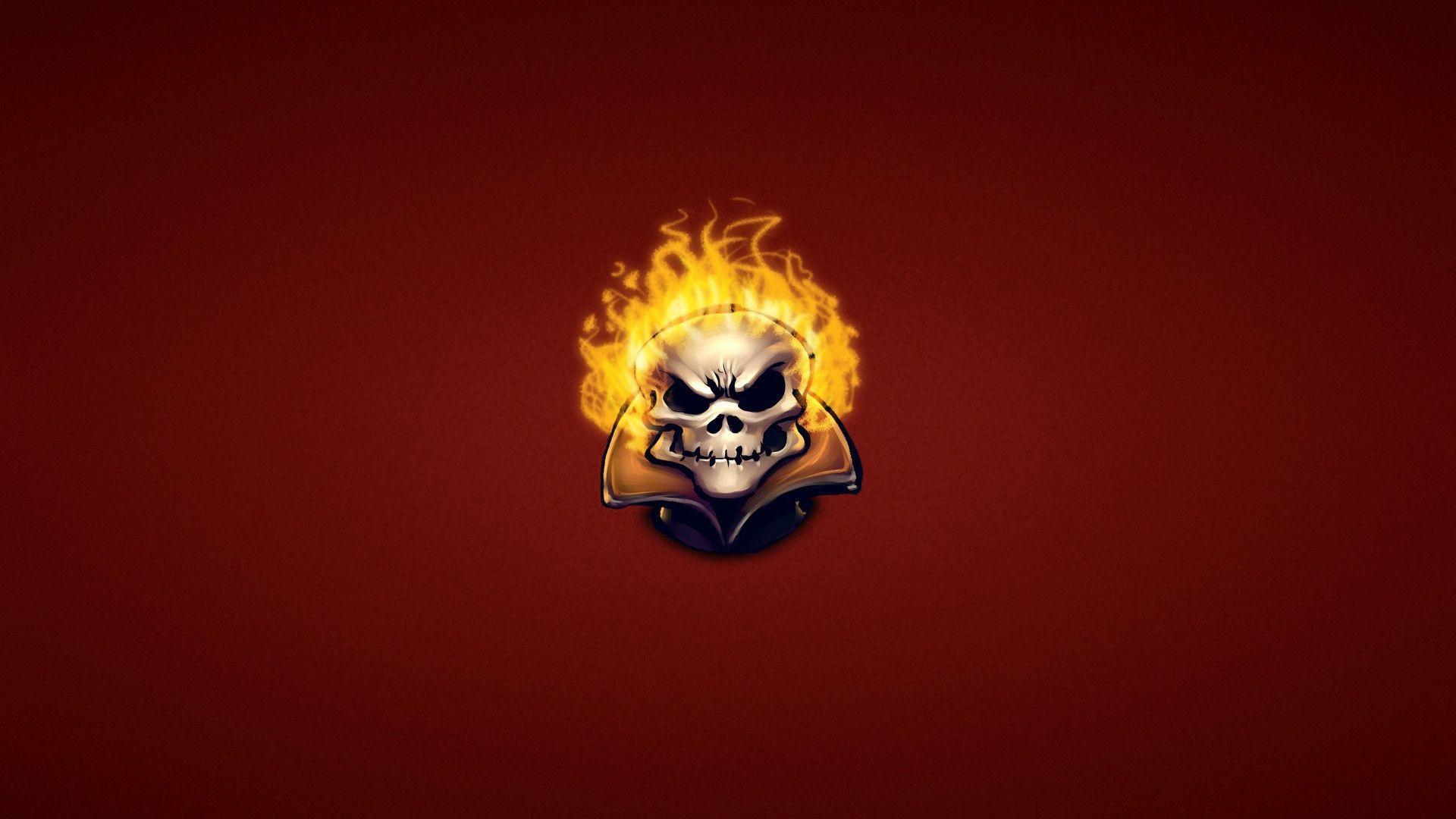 Ghost Rider Skull Wallpaper 229739