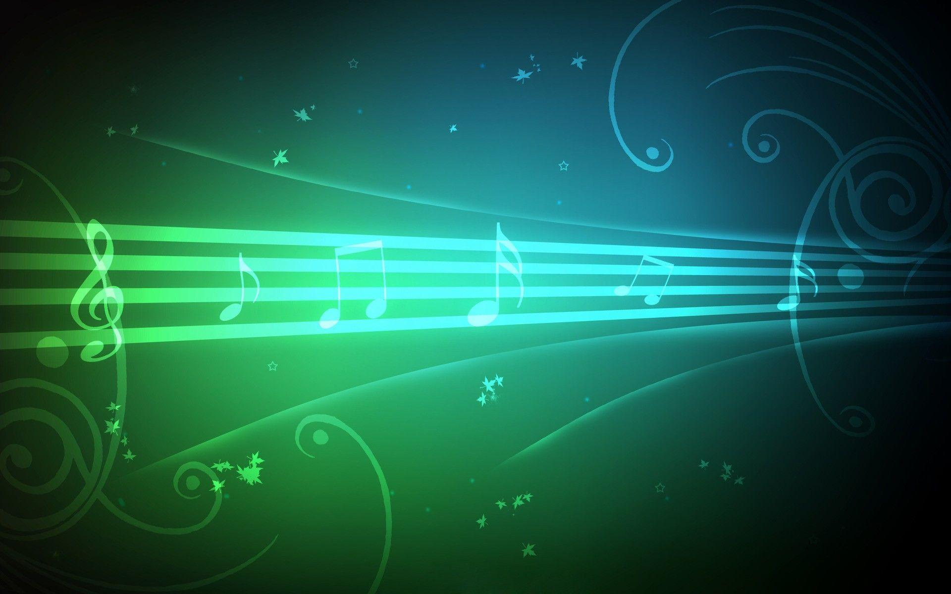 Colorful Music Notes Wallpapers
